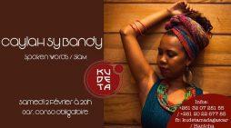 CAYLAH SY BANDY  au KUDETA  URBAN CLUB le Samedi 2 Février à 20h
