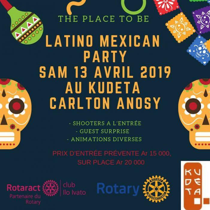 LATINO MEXICAN PARTY au KUDETA le Samedi 13 Avril 2019 à 19h00
