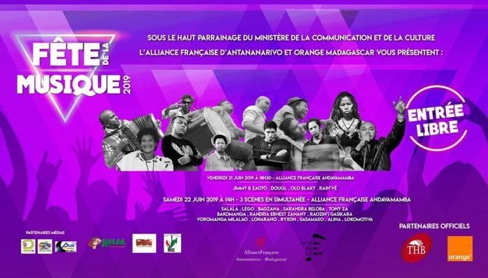 FETE DE LA MUSIQUE 2019 Vendredi 21 juin 2019