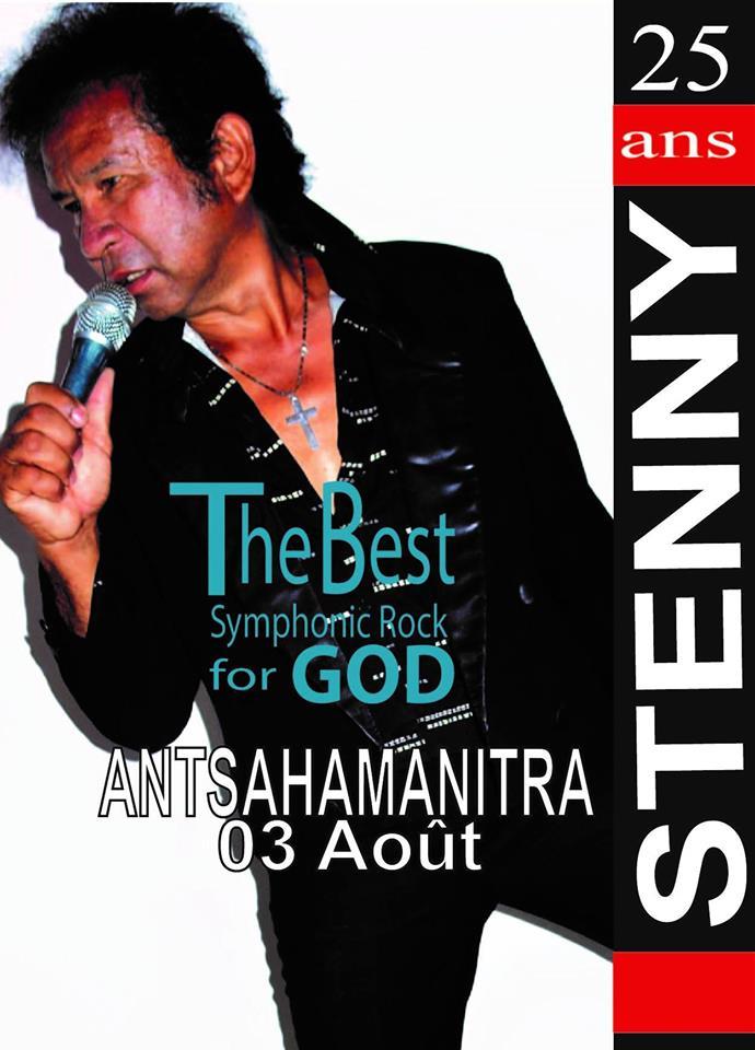 CONCERT STENNY LIVE à Antsahamanitra le 03 août 2019