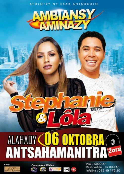 AMBIANSY AMINAZY miaraka am Stéphanie sy Lola !!!
