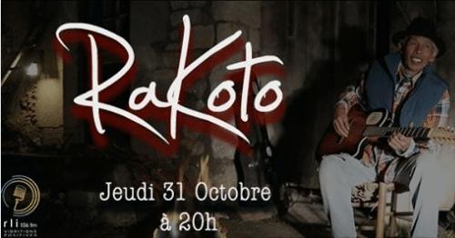 Rakoto en Live, 1ère partie Avotra le jeudi 31octobre au KUDETA