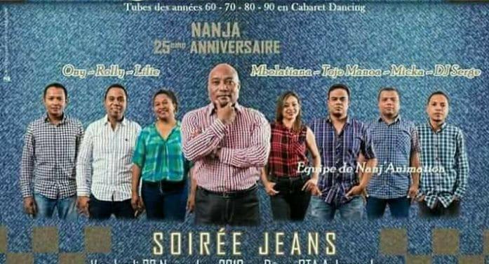 Soirée Jeans avec Nanja le 22 novembre 2019 au Dome RTA à partir de 20h30